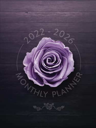 2022-2026 Monthly Planner: 5 Year, …