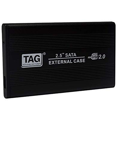 TAG 2.5″ SATA External Casing USB 2.0 – Suitable for All Types of 2.5″ Hard Disk