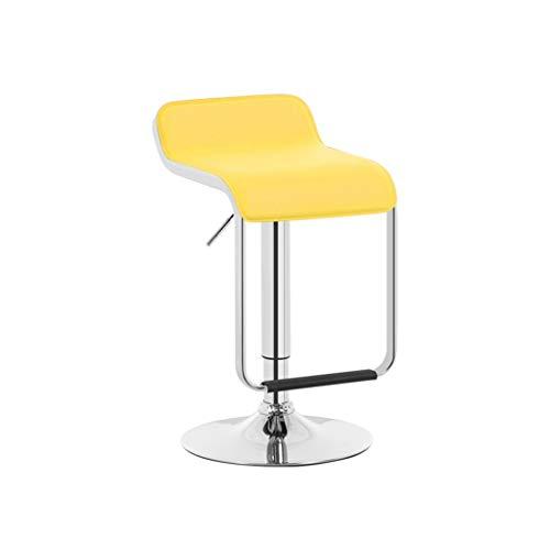 Crazy stool Zhou-WD Altura Ajustable Silla giratoria, sin reposabrazos PU Cuero Taburete...