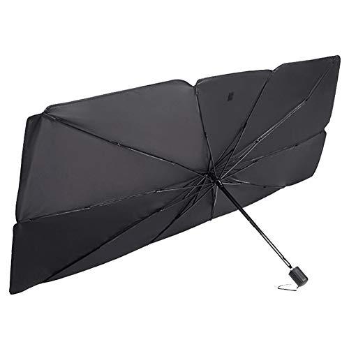 Chutoral Parasol para parabrisas de coche, parasol delantero, protector UV para coche, plegable, parasol delantero, para mantener el vehículo fresco, 0, Grande