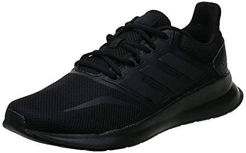 adidas Runfalcon, Scarpe da Corsa Uomo, Nero (Core Black/Core Black/Core Black G28970), 42 2/3 EU