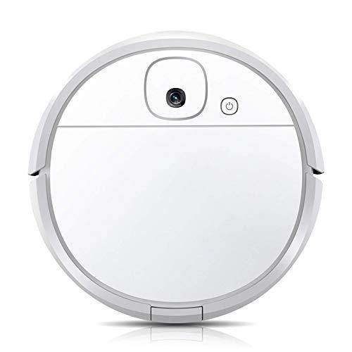 Robot Aspiradora, Muy Delgado y silencioso, Auto-Carga Aspirador robótico, Limpia Pisos Duros a Medio-Car Pile GDSZMMLS