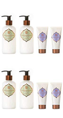 AKALIKO Lemongrass Essence Body Lotion and Lavender Cherish Hand Cream - Set C.