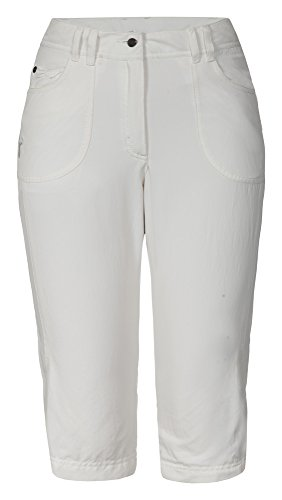 Icepeak Damen Shorts Bermudas Leila, Natural White, 38