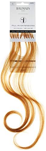 Balmain Lot de 10 extensions de cheveux humains 45 cm de long numéro 9G Blond doré très clair 0,04 kg