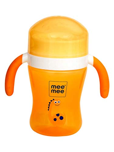 Mee Mee Easy Grip 360° Trainer Sipper Cup, Orange, 240ml