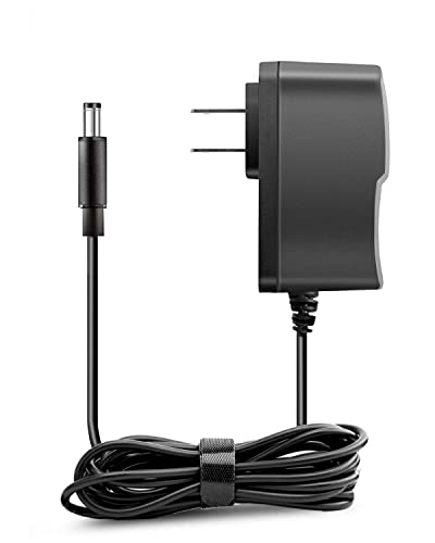 LitStar 9V Power Adapter for Casio Keyboard AD-5 AD-5MU AD-5MR WK-110 WK-200 LK-100 LK-220 CTK-496 CTK-573 CTK-700 CTK-710 CTK-720 CTK-2100 Supply Charger Cord (8.2ft)
