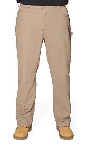 Berne Authentic American Pantalón de Trabajo - Timber Khaki Hombre Industriales BERNEPANT02
