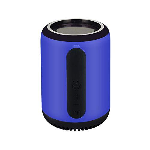 QAZW Altavoz Bluetooth Ducha Radio de Ducha Impermeable con FM Radio Altavoz Impermeable IP67 Radio Ducha Portátil Altavoz de Ducha para Fiestas, Piscina, Playa, Viajes,Blue
