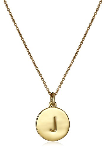 kate spade new york 'Kate Spade Pendants' 'J' Pendant Necklace, 18'
