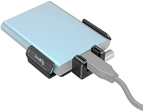 SMALLRIG Staffa di Montaggio SSD per SSD T5/T7 Funziona con BMPCC 6K PRO Cage 3270-3272