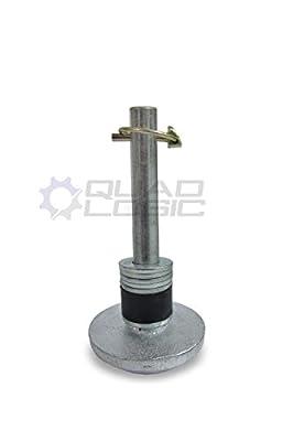 Moose Utilities ATV/UTV Plow Replacement Plow Skid Shoe Kit M91-50021