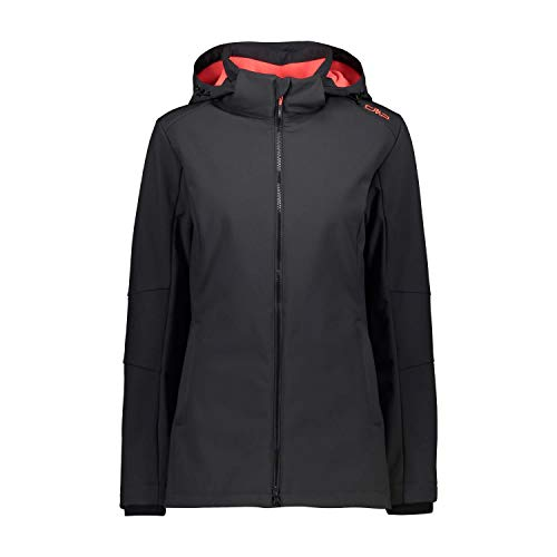 CMP Giacca Softshell Comfort Fit Long Con Tecnologia Climaprotect Wp 7.000 Chaqueta Softshell Mujer