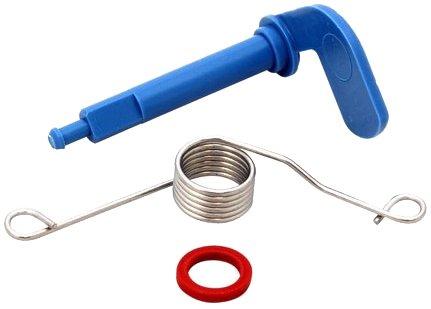 Dispositivo di aggancio e montaggio a molla per lavastoviglie Bosch