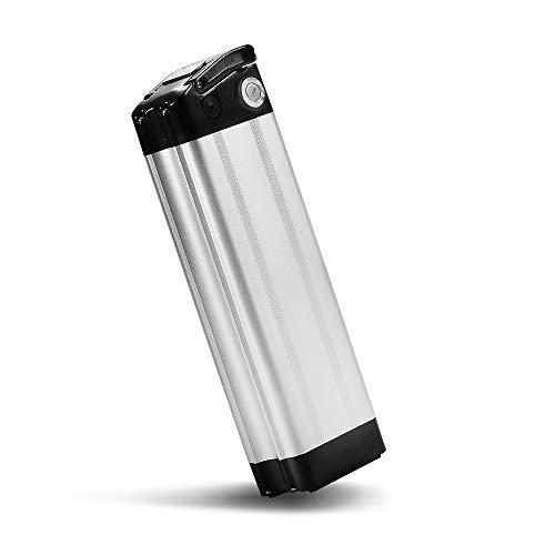 SEASON E-Bike Akku 36V 15Ah(555Wh) mit USB, Pedelec Ersatzbatterie für Aldi Prophete Mifa Samsung Phylion