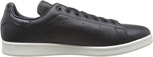 adidas Originals Herren Stan Smith Turnschuhe, Schwarz (Negbas / Negbas / Ftwbla), 42 2/3 EU