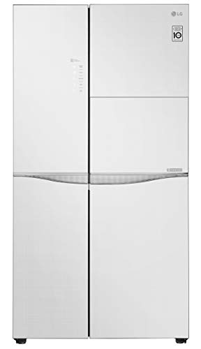 LG 675 L Wi-Fi Inverter Frost-Free Side-by-Side Refrigerator (GC-C247UGLW, White)