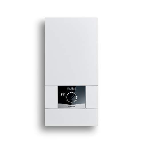 Vaillant elektronischer Durchlauferhitzer electronicVED, VED E 27/8, 27 kW, druckfest, Digitalanzeige, gradgenaue Auslauftemperatur, stufenlos einstellbar, 0010023780