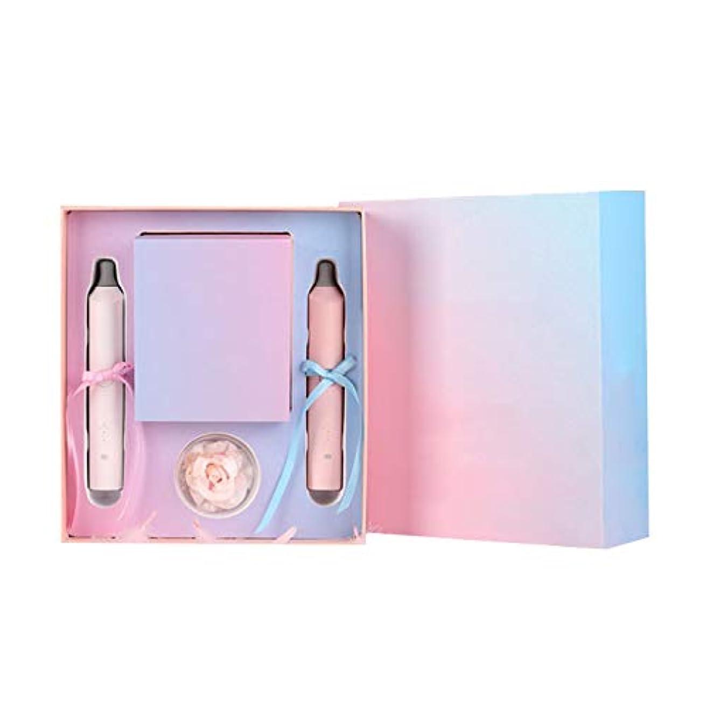 メーカー怠浸漬USB 充電 防水 ホワイトニング 電気の 歯ブラシ インテリジェント 高い 周波数 振動 柔らかい 剛毛 3 種類 の クリーニング モード カップルズ セット 贈り物 ボックス