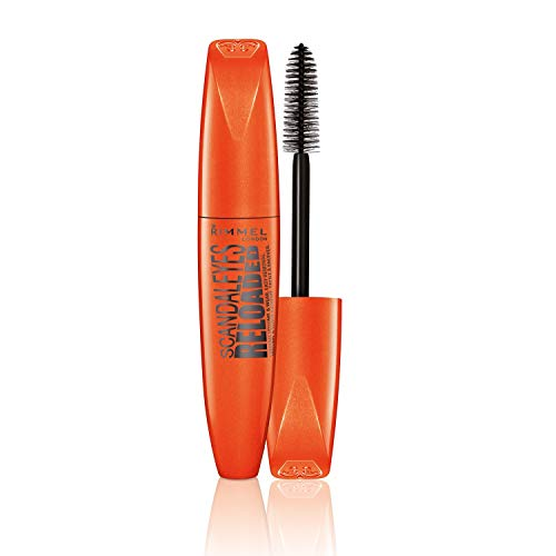Rimmel London Scandaleyes Reloaded Máscara de Pestañas Tono 001 Black - 12 ml