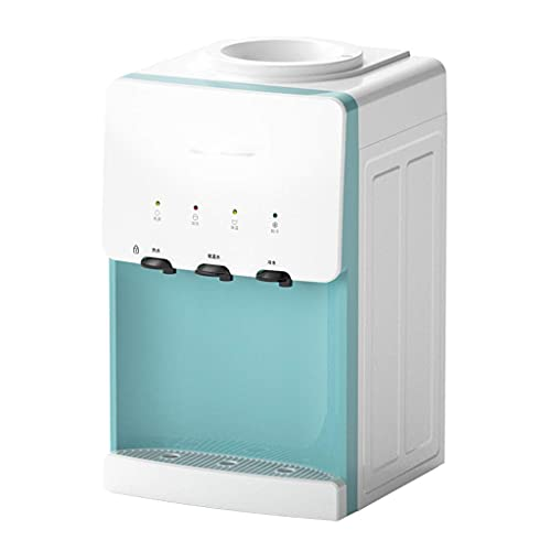 Dispensador de agua caliente Cocina Dispensador de agua de escritorio Hogar Máquina de agua inteligente Oficina Mini bebedero, calor de hielo Dormitorio de estudiante de doble uso Niño (Color: A, Tama