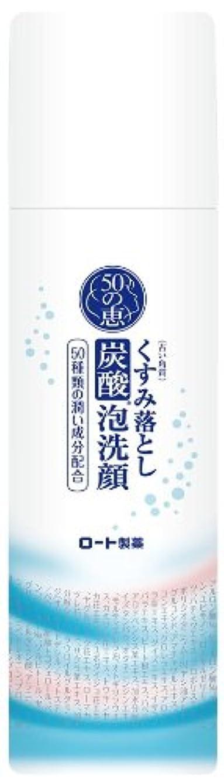 ブランド名ぺディカブロケーション50の恵 泡洗顔 150g