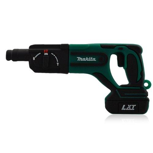 818-Shop No50200070032 Hi-Speed 2.0 USB-Sticks 32GB Bohrhammer Werkzeug 3D grün