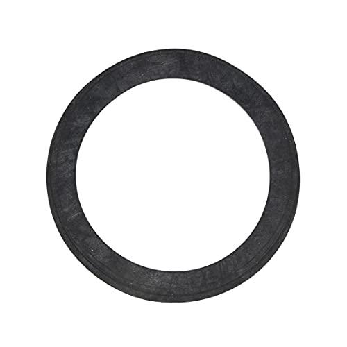 Gummi-Dichtungen mit TRINKWASSERZULASSUNG aus EPDM, Flachdichtung - Größe (3/8 Zoll bis 2 Zoll) - Menge (1 bis 100 Stück) (20 Stück: 1/2 Zoll 19x12x2,0mm)