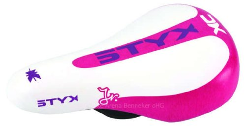 Styx pink/wei� Kindersattel