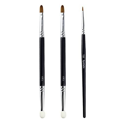 Beaupretty 1 Set Eyeshadow Makeup Brushes Set Dupla Face Corretivo Escovas da Sombra de Olho Profissional Blending Concealer Com Soft Cabelos Sintéticos