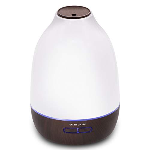 ZUEN Humidificadores, difusor de Aroma de Aceite Esencial,Humidificadores de Niebla fría de 500 ml, Adecuado para la Oficina de SPA en casa
