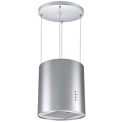 Cookology Ceiling Wire Hung Island Cooker Hood Extractor Fan