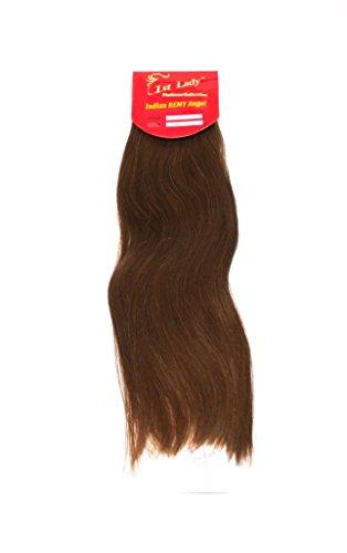 45,7 cm Premium indien Ange 100% Remy Extension de cheveux humains tissage 113 g # S2 (# 6)