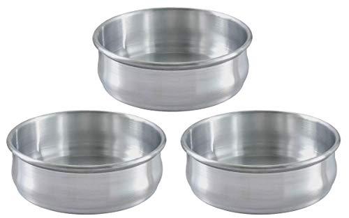 Stackable Dough Pan 48oz Alu SET OF 3