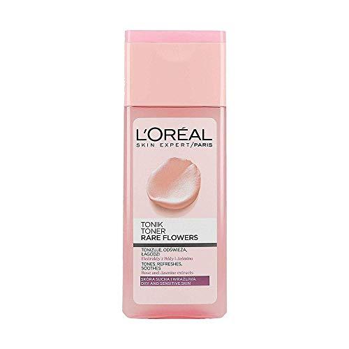 L 'Oreal Dermo Expertise Bloemen zeldzame gezichtswater voor droge en gevoelige huid 200 ml