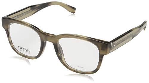Hugo Boss BO-0207-9DR-15-53-15-140 Orange Brillengestelle BO-0207-9DR-15-53-15-140 Rechteckig Brillengestelle 49, Beige