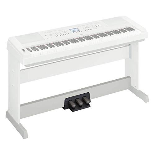 Yamaha LP-7AWH - Soporte de teclado, color blanco