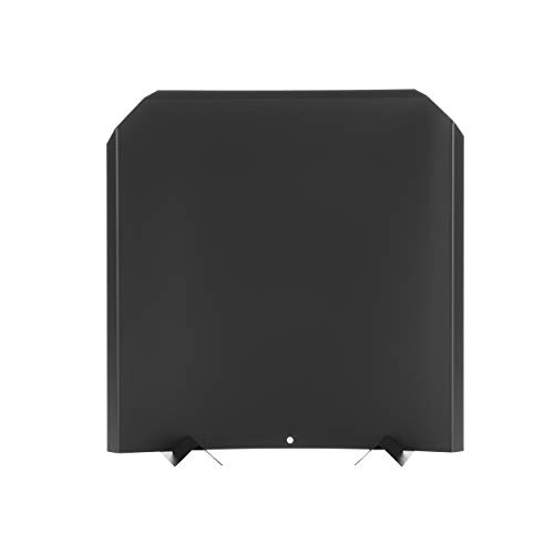 Why Choose HY-C FB2020 Fireback, Stainless Steel Painted Black, Adjustable Installation, Protects Fi...