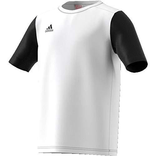 adidas Estro 19 Jsyy Camiseta de Manga Corta, Niños, White, 1112Y