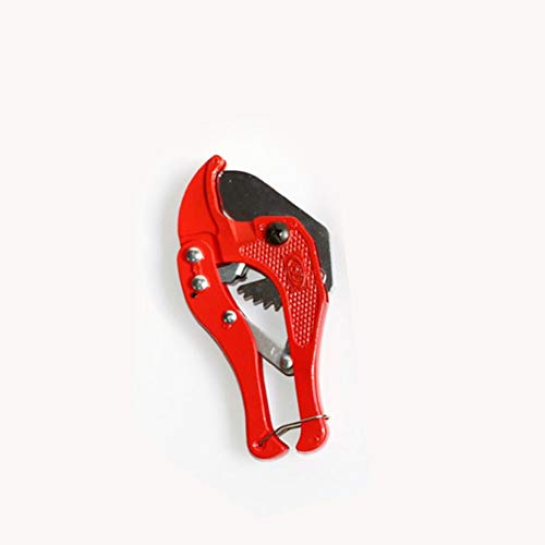 PETUNIA Cortatubos de PVC Rojo Tijeras pequeñas Rojas
