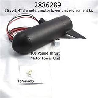 Minn Kota Maxxum 101lb. Trolling Motor Lower Unit Assy. #2886289