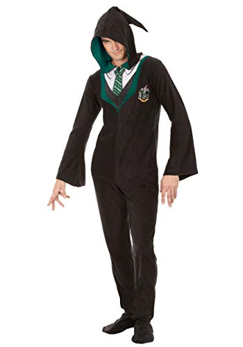 Harry Potter Slytherin Adult Union Suit – XL
