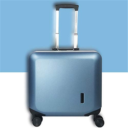 NgMik Telescopic suitcase 18 Inch Lady Boarding Suitcase Telescopic Trolley Case Password Suitcase Trolley Case Universal Wheel Gift Box Lightweight suitcase (Color : C2, Size : 18inch)