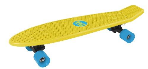 Streetsurfing Skateboard Fizz Board, Yellow, 500201