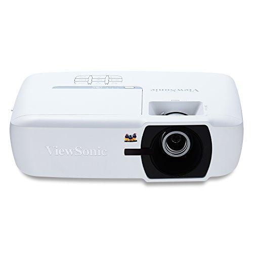 Viewsonic PA505W DLP Beamer (WXGA, 3.500 ANSI Lumen, 2x HDMI, 8 Watt Lautsprecher, 1.1x optischer Zoom) weiß