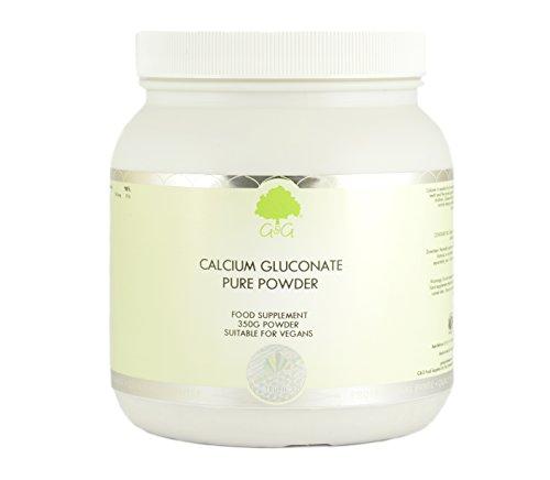 G&G Vitamins Calcium Gluconate 350G Pulver (vegan)