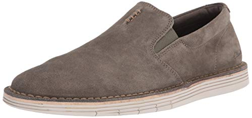 Clarks Men's Forge Free Loafer, Olive Suede, 120 M US