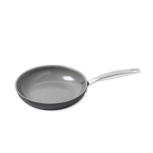 """GreenPan Chatham 8"""" ceramic Non-Stick Open Frypan, Grey - CC000118-001"""