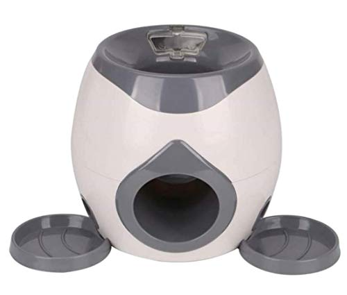 ZJN.DD Juguete automático de la Pelota de Tenis del Lanzador del Perro del Animal doméstico, máquina Que Lanza la Pelota de Tenis para el Entrenamiento del Perro