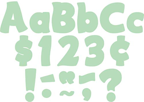 """Mint Green Funtastic 4"""" Letters Combo Pack"""